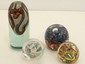 Lot of Four Art Glass Paperweights #4