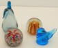 Lot of Four Art Glass Paperweights #5