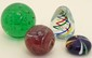 Lot of Four Art Glass Paperweights #6
