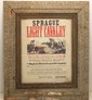 Sprague Light Cavalry Framed Recruitment Poster