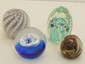 Lot of Four Art Glass Paperweights #13