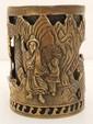 Bronze Scholars Brush Pot