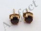 14 Kt Gold Gemstone Earrings #2