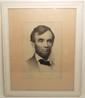 Joseph Decamp Lithograph of Abraham Lincoln