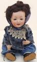 Kestner German Bisque Head Baby Doll 14