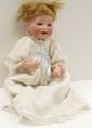 German Bisque Head Baby Doll 12 1/2