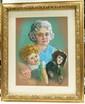 Ida Leibovitz Crayon & Pastel on Board