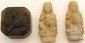 Chinese Carved Stone Statues and Seal