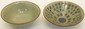 Two Chinese Celadon Crackle Bowls