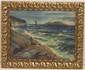 K.V. Anstensen Oil on Canvas Seascape