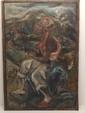 Denoy Oil on Canvas Haitian Woman