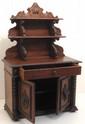 Victorian Oak Salesman Sampler / Miniature Server