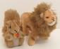 Steiff Leo Lion and Possy Squirrel