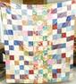 Vintage Block Pattern Quilt