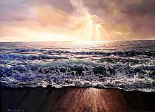 Water and Light, acrylic painting by Philip Smith