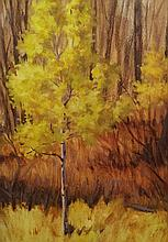 Aspen, oil painting by Roger Smith