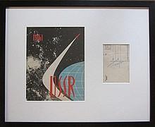 Yuri Gagarin signed presentation