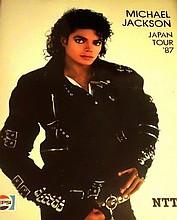 Michael Jackson BAD tour programme