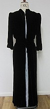 Stevie Nicks Belted Gown