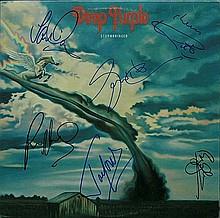 Deep Purple Signed LP