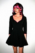 Courtney Love. Owned & worn dress