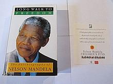 Nelson Mandela Signed Long Walk to Freedom