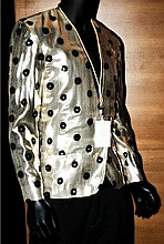 Prince gold lame jacket