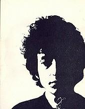 Bob Dylan. A 1966 Uk tour programme.