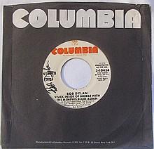 Bob Dylan Demo 45RPM, signed