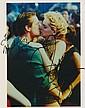 Michael Douglas & Sharon Stone Autographed photograph