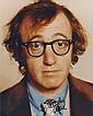 Woody Allen Autographed publicity photograph