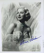 Actress ELEANOR PARKER - Photo Signed