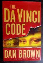 Author DAN BROWN - DaVinci Code Signed