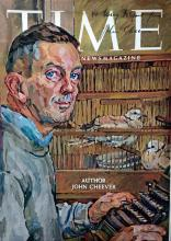 Author JOHN CHEEVER - TIME Cover Signed