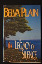 Author BELVA PLAIN - Her Book Signed, 1st ED