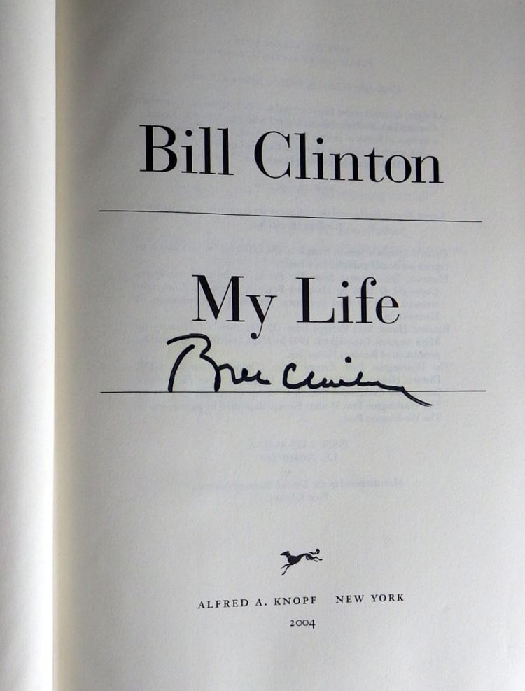 my life on the bill of The paperback of the my life by bill clinton at barnes & noble free shipping on $25 or more.