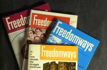 Civil Rights Publication FREEDOMWAYS - 4 Copies