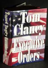 Author TOM CLANCY - Executive Orders Signed 1st