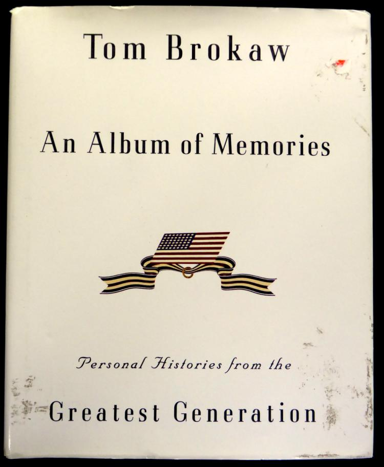 Newsman TOM BROKAW - His Book Signed