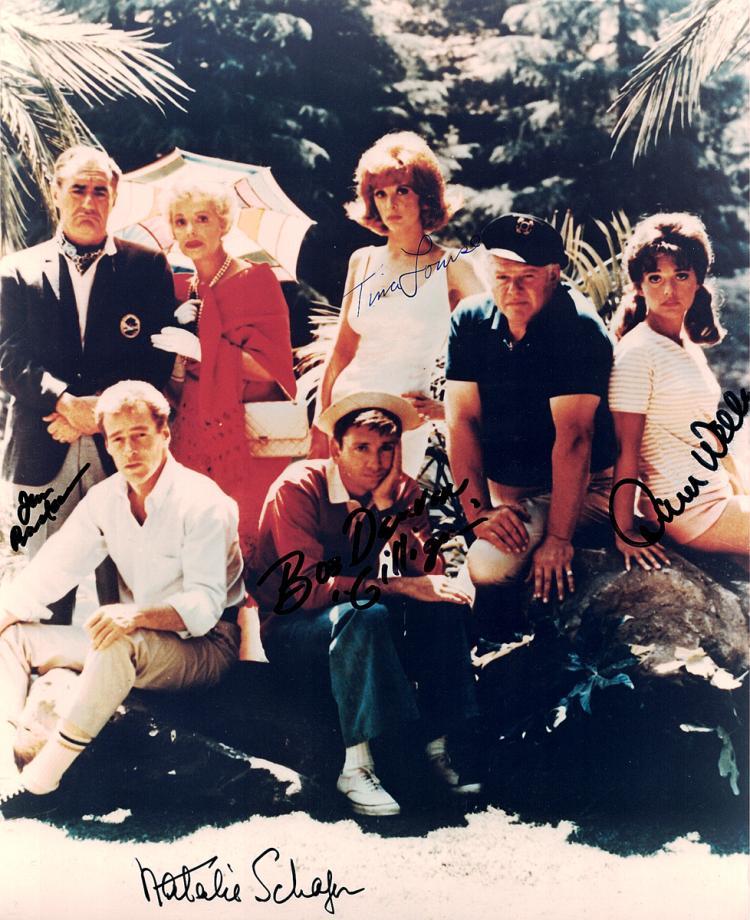 GILLIGAN'S ISLAND - Cast Signed Photo (5 Actors)