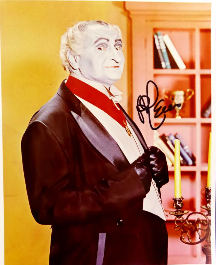 Munsters Actor AL LEWIS - Photo Signed