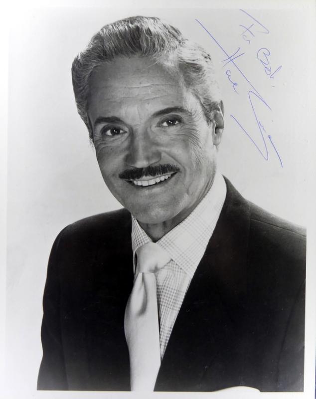 Actor HAL LINDEN - Photo Signed