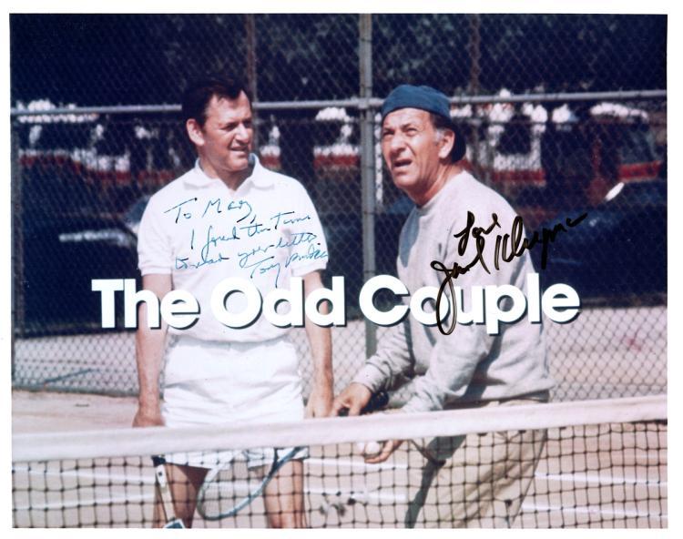 The Odd Couple -RANDALL & KLUGMAN - Photo Signed