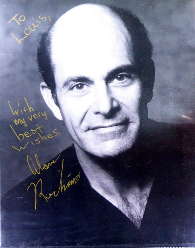 Actor ALAN RACHINS - Photo Signed