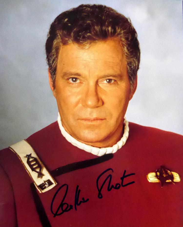 WILLIAM SHATNER - Star Trek Photo Signed
