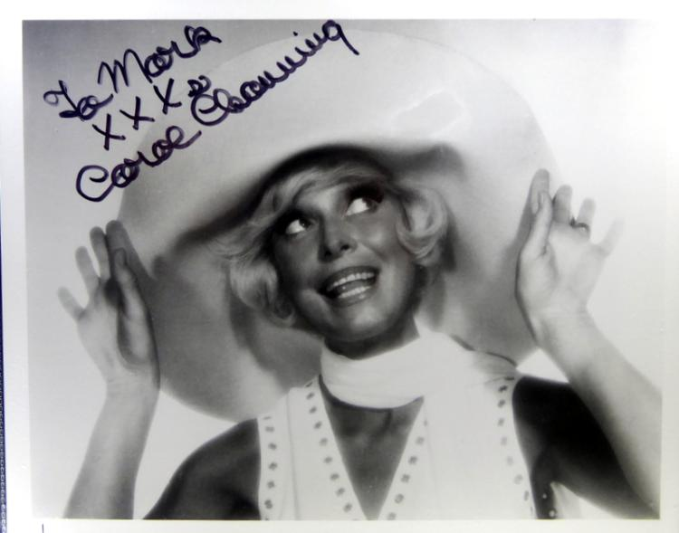 Actress CAROL CHANNING - Photo Signed