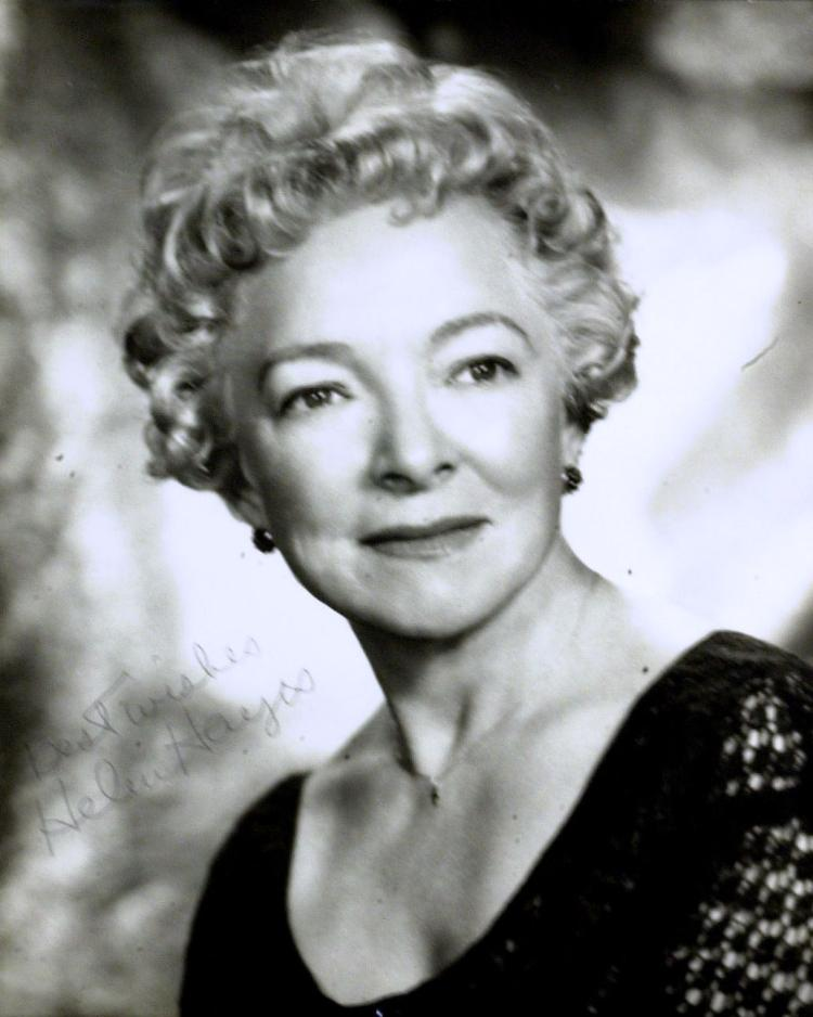 Actress HELEN HAYES - Photo Signed