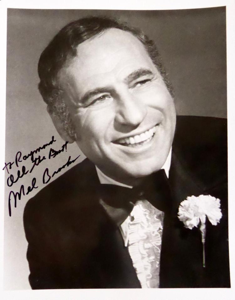 Comedian, Filmmaker MEL BROOKS - Photo Signed