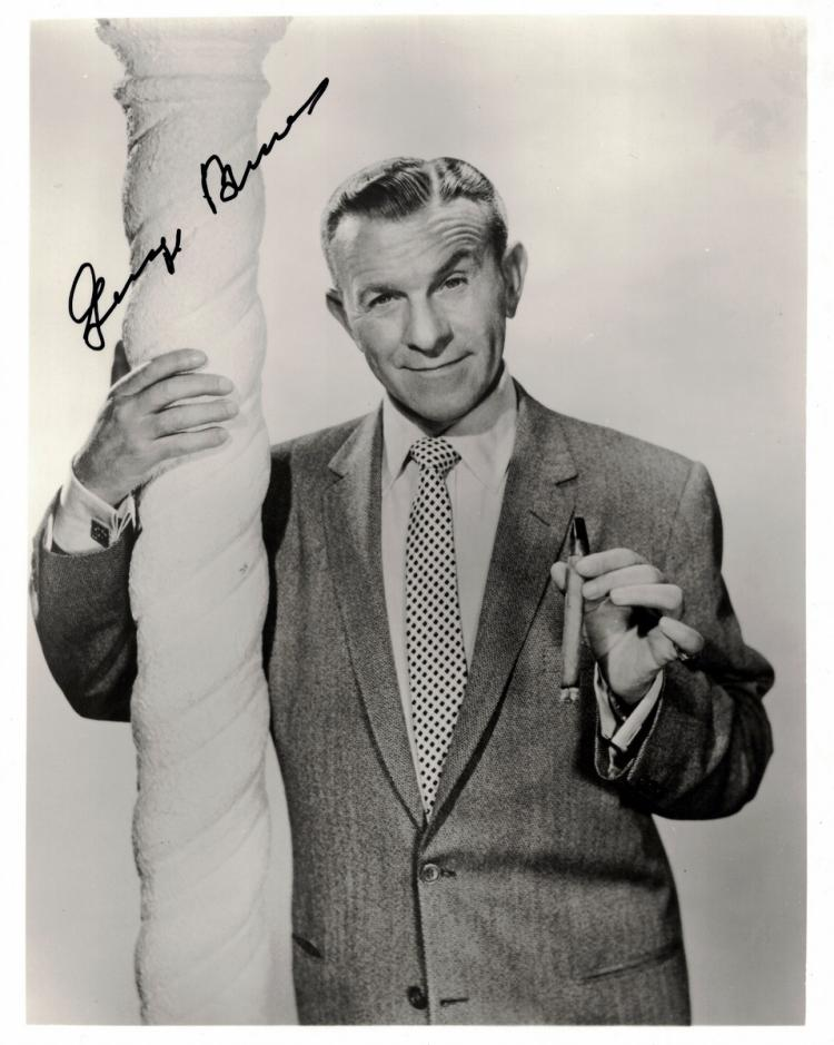 Comedian, Actor GEORGE BURNS - Photo Signed