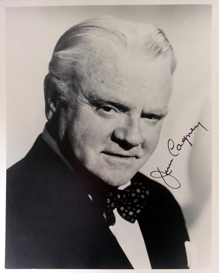 JAMES CAGNEY - Photo Signed
